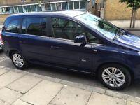 Vauxhall Zafira Ecoflex 2013 Full Main Dealer Service History Mot till June 2017 LOW MILEAGE