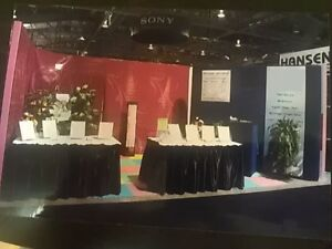 Trade Show Fabric Pop Up Display for Exhibit Shows
