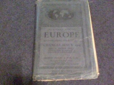 New Hand Map of Europe Illustrating  Territorial Changes since 1914, ed16