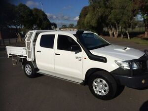 2012 Toyota Hilux KUN26R MY12 SR (4x4) 5 Speed Manual Clarence Gardens Mitcham Area Preview