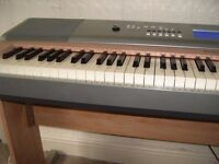 yamaha dgx620 keyboard full weighted keys 88