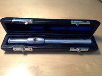 Flute Headjoint: Michael Botha solid silver professional flute headjoint