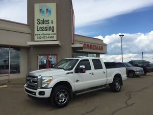 2014 Ford F-350 Platinum Diesel/Nav/Sunroof $52987
