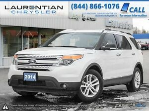 2014 Ford Explorer XLT-LEATHER+ACCIDENT FREE+NAVIGATION