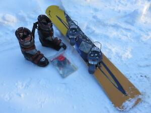 Alpine snowboard (kit complet)