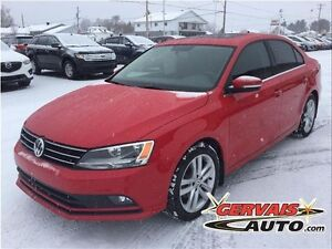 Volkswagen Jetta Highline TSI Turbo Cuir Toit Ouvrant MAGS 2015