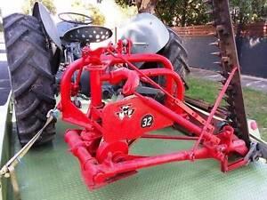 Old Massey Ferguson Tractor Mower Slasher Antique Garden Ornament Geelong Geelong City Preview