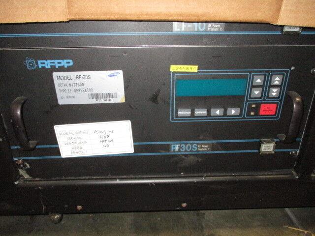 Advanced Energy AE 3150017-013 RF Generator, RFPP RF30SWC/MT, RF30S, CVD, 418903