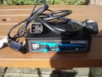 NJD SC4000 DISCO LIGHT CONTROLLER , 1xELVCON PLUG TO 1x BULGIN PLUG LEAD ,