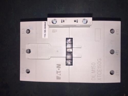 DILM150 [120VAC] Moeller Electric/Klockner Moeller 155A 3P DIN Rail Contactor