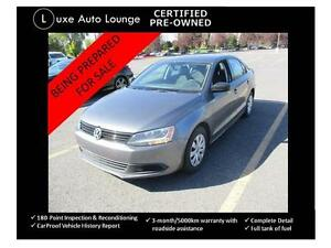2013 Volkswagen Jetta Sedan - bluetooth, heated seats, auto, 77K