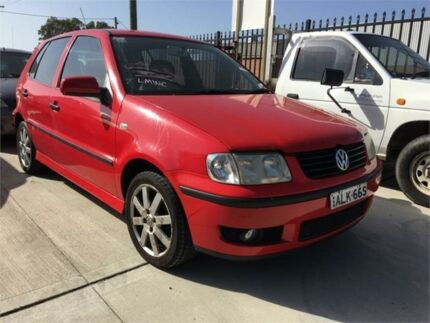2001 Volkswagen Polo A03 16V Red Automatic Hatchback