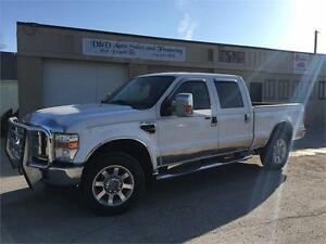 2008 Ford Super Duty F-350 SRW Lariat-4WD-LEATHER-LOADED-ALLOYS