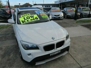 2010 BMW X1 E84 sDrive 18I White 6 Speed Automatic Wagon New Lambton Newcastle Area Preview