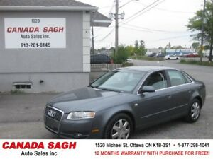 2005 Audi 3.2L,AUTO,AWD,LEATHER,12 M WRTY,SAFETY $4990