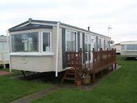 2 bedroom static holiday caravan for sale on the east Yorkshire coast