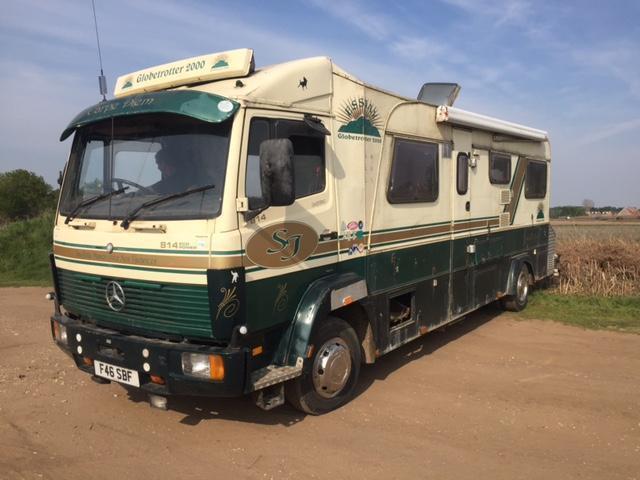 Mercedes benz 814 eco power motorhome disereable and rare for Mercedes benz rv used