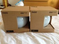 IKEA Fado Table Lamps (Pair), Brand new and in packaging.