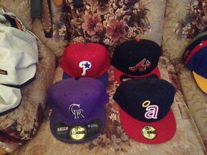 Brand new size 7 3/8 MLB New Era hats $20 each
