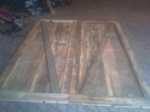 antique wood and old barn doors  for sale 250.00/300.00