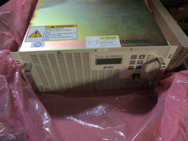 Adtec AX-2000EUII RF Plasma Generator, Novellus 27-286651-00, 450623