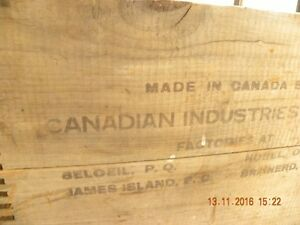 Wooden Explosives Box Peterborough Peterborough Area image 3
