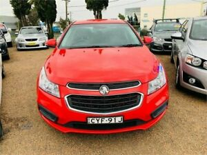 2015 Holden Cruze JH Series II MY15 Equipe Red 6 Speed Sports Automatic Sedan Minchinbury Blacktown Area Preview