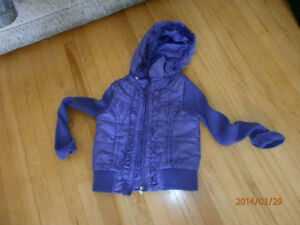 Girl's spring and fall jacket