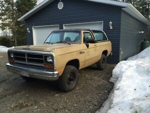 1990 Dodge Ramcharger Cummins 12 Valve Diesel