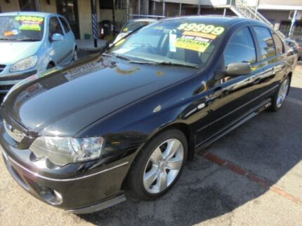 2008 Ford Falcon BF Mk II XR6 Black 4 Speed Sports Automatic Sedan Mount Hawthorn Vincent Area Preview