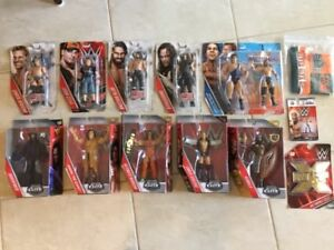 WWE Action Figures - New and Sealed