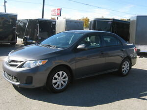 2013 Toyota Corolla Certified & E-tested