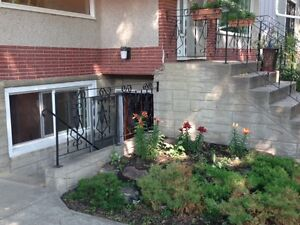 11164 78ave 1Bed 1Bath Bsmt Near UofA Whyte Utilities included