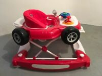 4Baby Red Racing Car Walker - now REDUCED