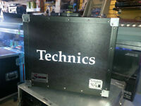 Clydesdale cases for Technics 1200 turntables