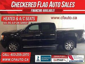 2010 GMC Sierra 1500 Denali 4x4-DVD-AC SEATS-SUNROOF-B.UP CAM-14