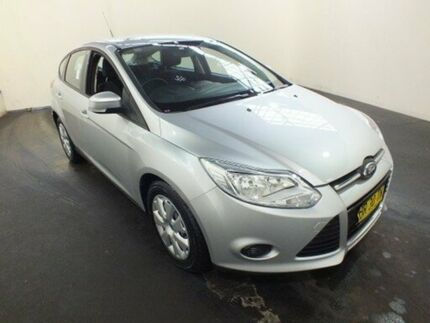 2012 Ford Focus LW MK2 Ambiente Silver 6 Speed Automatic Sedan Clemton Park Canterbury Area Preview