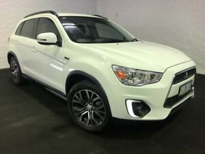 2016 Mitsubishi ASX XB MY15.5 LS 2WD White 6 Speed Constant Variable Wagon Derwent Park Glenorchy Area Preview