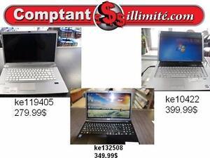 Ordinateur portable reconditionnés et garantie 30 jours Chez Comptantillimite.com