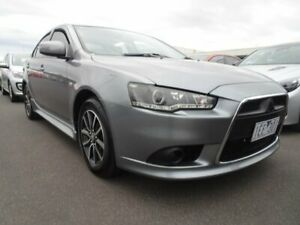 2014 Mitsubishi Lancer CJ MY14 ES Grey 6 Speed Constant Variable Sedan Strathmore Heights Moonee Valley Preview