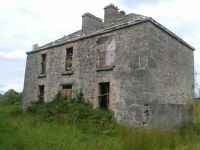 Development Opportunity: 2 Storey Original Stone House on c. 1 acre of land, Co. Roscommon, Ireland
