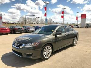 2014 Honda Accord Sedan Touring- Leather, Navigation, Low KM!