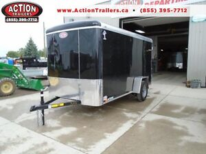 2017 6X12 ATLAS - ENCLOSED, HEAVY DUTY - PRICED TO SELL!