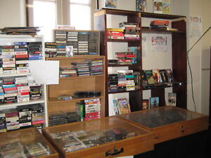 VHS TAPES , 8 TRACK TAPES, CASSETTES & LPS. Peterborough Peterborough Area image 1