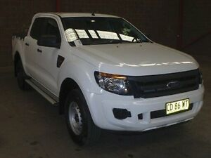 2015 Ford Ranger PX MkII 3.2 XL Plus (4x4) White 6 Speed Automatic Crewcab Kooringal Wagga Wagga City Preview