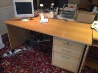 Office furniture - desks, drawers, filing cabinets - make an offer!