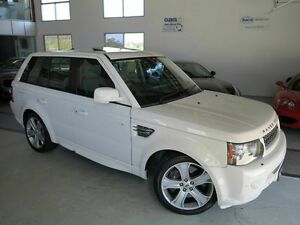 2009 Land Rover Range Rover Sport L320 10MY Super Charged Alaska White 6 Speed Sports Automatic Albion Brisbane North East Preview