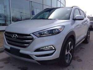 2017 Hyundai Tucson AWD 1.6T SE Leather  Bluetooth  Sunroof