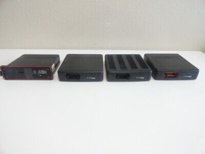 Lot Of 4 Motorola Mcs2000 Mobile Ii Flashport Radio M01hx822w