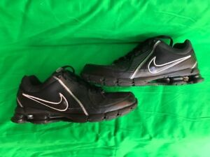 Mens Nike Shox - Black - Clean Inside & Out - Excellent - LOOK